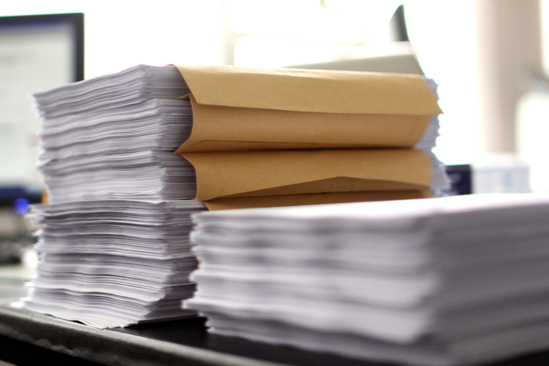 Stack of Condo Forms